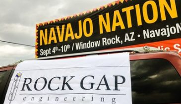 Rock Gap Engineering Attends Navajo Nation Parade, Building a Network of Entrepreneurship