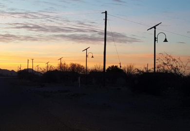 Gila River Indian Community Solar Street Lights Project