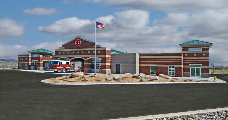 Rock Gap Engineering constructs Weaver mountain Fire Station